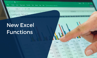 New Excel Functions CPE Course