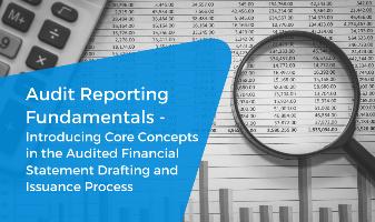 Audit Reporting Fundamentals CPE Webinar