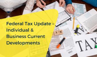 Business Tax Update CE