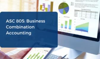 ASC 805 accounting webinar