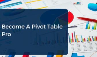 Excel Pivot table cpe course