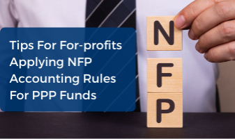 For-profit Advice Non-profit Accounting for PPP Funds CPE Webinar