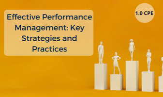 Effective Performance Management: Key Strategies and Practices