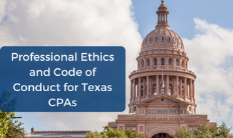 Ethics CPE and Code of Conduct for Texas CPAs