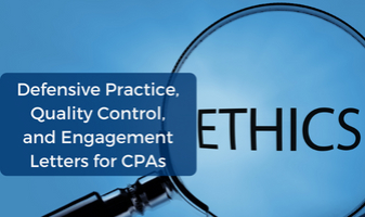 CPE Ethics Course on Quality Control, and Engagement Letters for CPAs