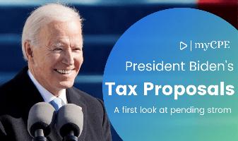 latest Biden tax proposal