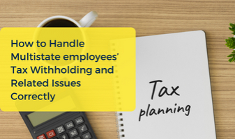 Multistate Employees Tax CPE Course